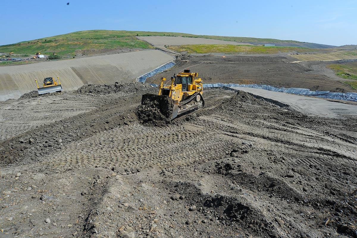 Municipal Solid Waste Landfill Cell Construction